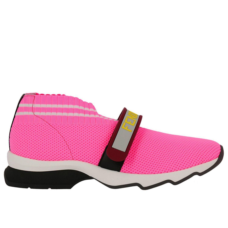 Fendi Shoes Women in Fuchsia (Pink) - Lyst
