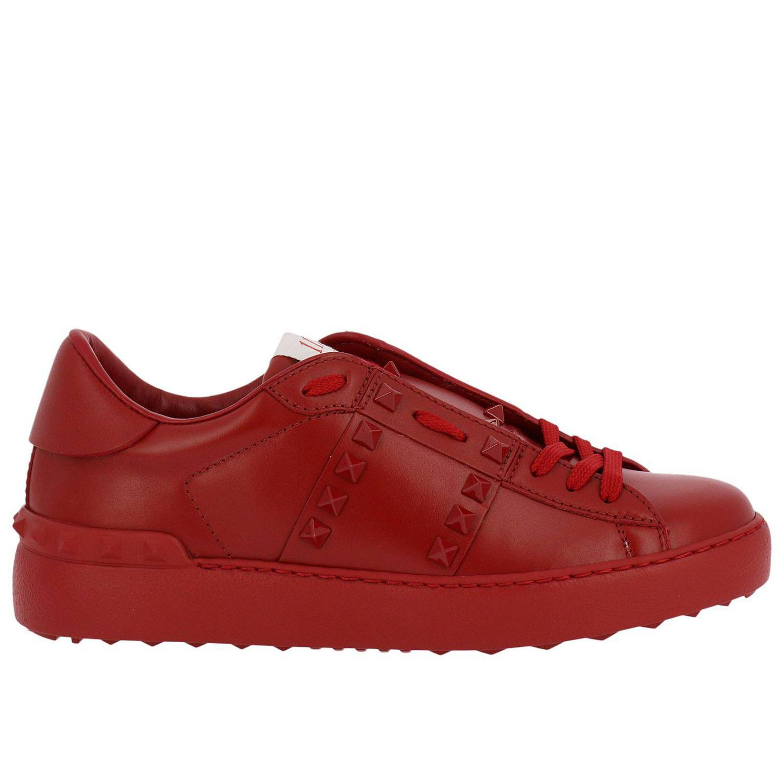 Valentino Leather Valentino Rockstud Untitled 11 Sneakers
