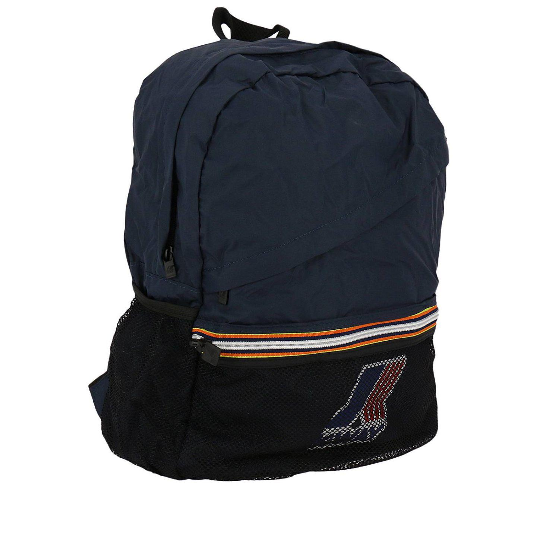 K-Way Backpack Men in Navy (Blue) for Men