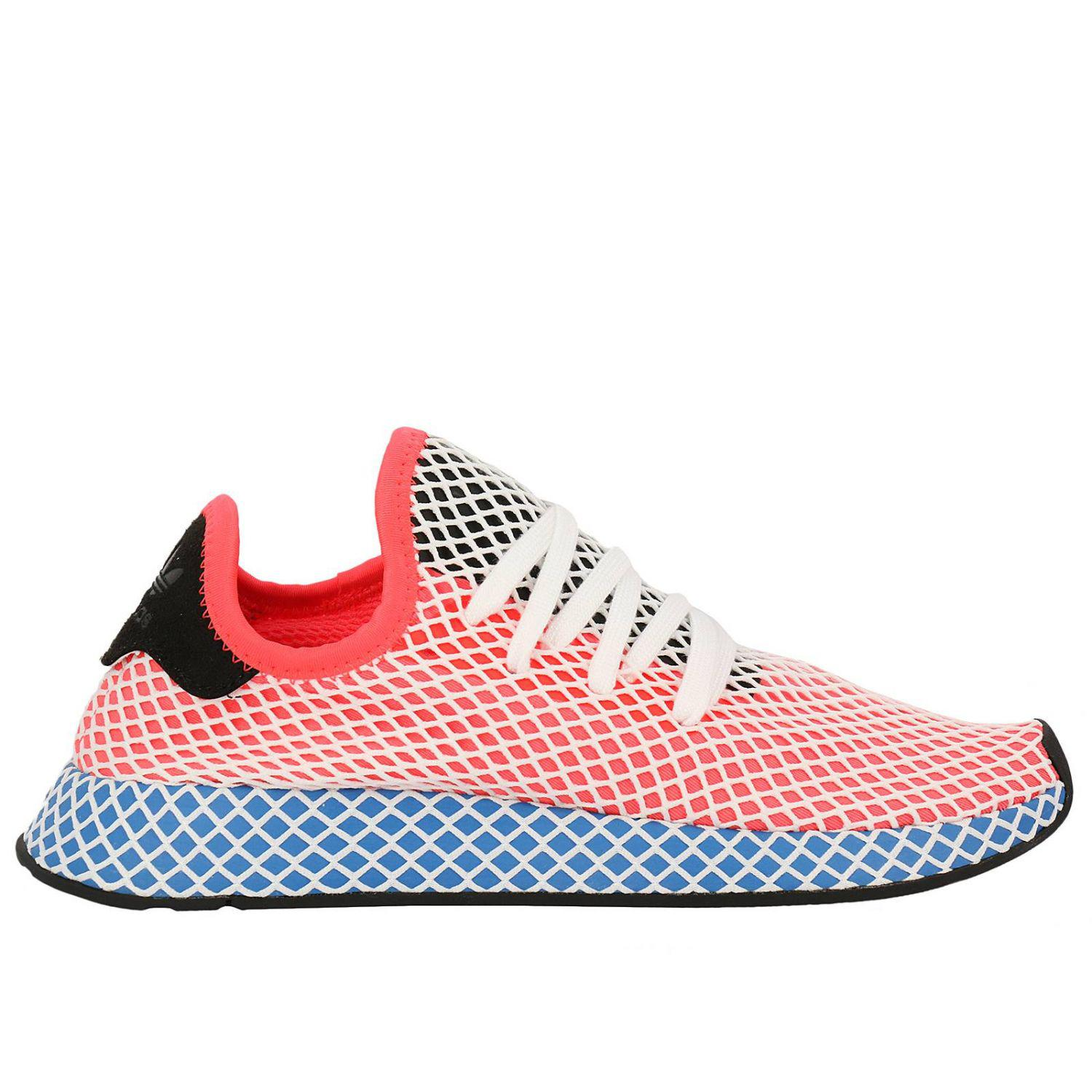 cfab9466 adidas-originals-Orange-Adidas-Deerupt-Runner-Sneakers-In-Knit-And -Mesh-Stretch-Net-Effect.jpeg