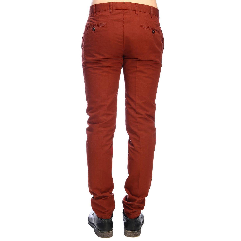 L.B.M. 1911 Men's Pants in Brick Red (Red) for Men
