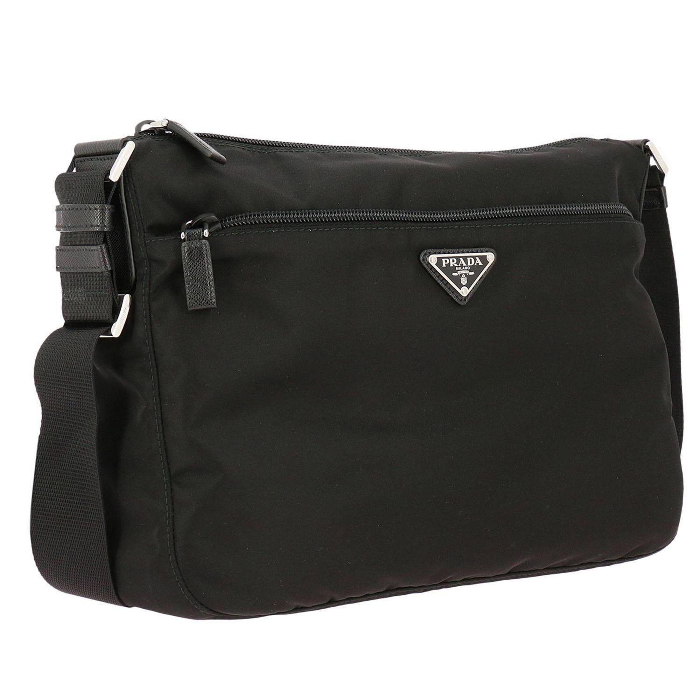 9fedef73fa4d ... australia prada black shoulder bag women lyst. view fullscreen dc394  b4d6f