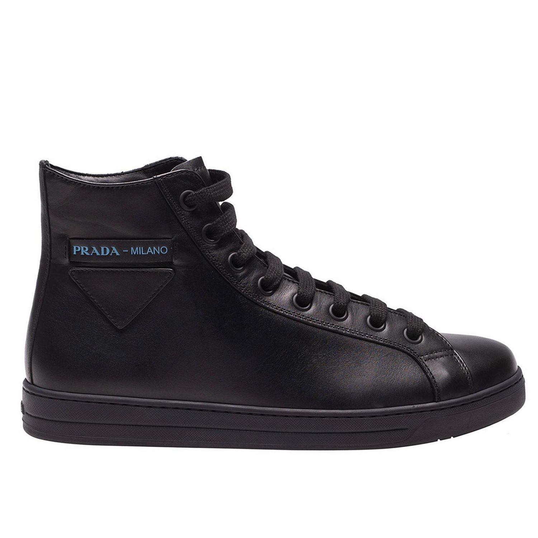 b0dc1054 Prada Sneakers Shoes Men in Blue for Men - Lyst