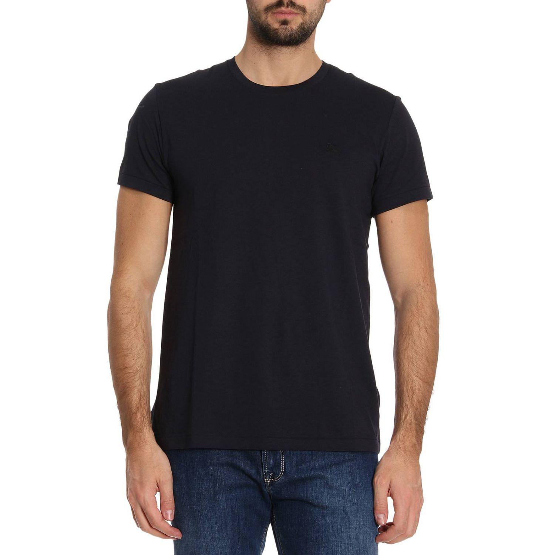 lyst burberry t shirt men in blue for men. Black Bedroom Furniture Sets. Home Design Ideas