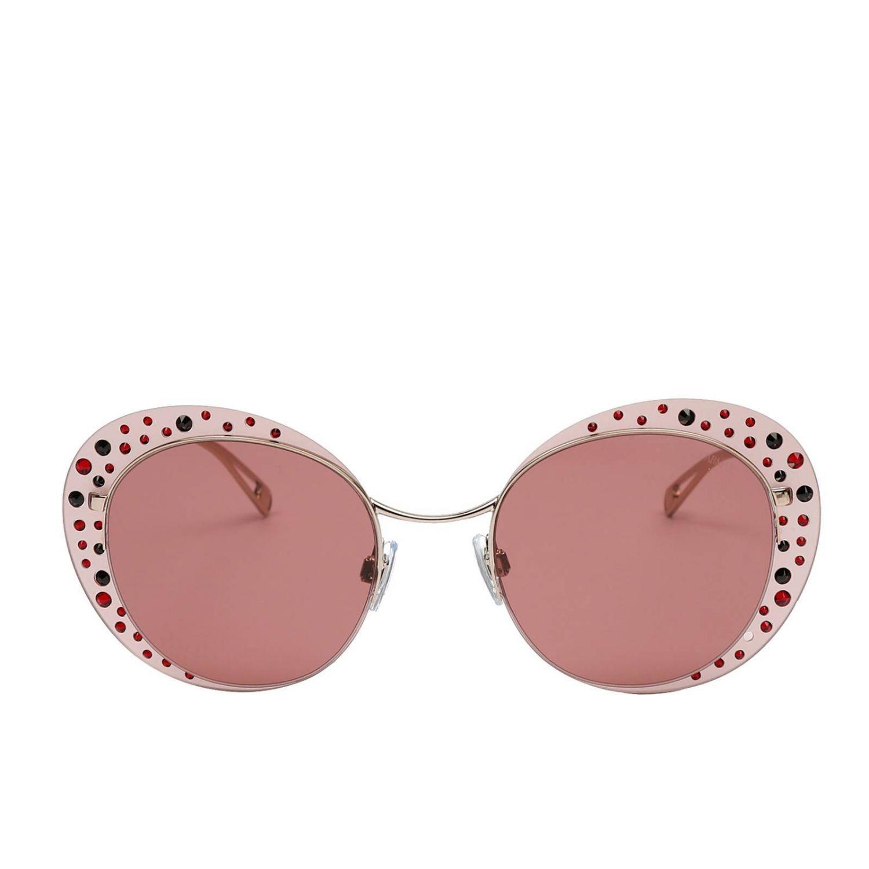 38e55d2f9a8e Giorgio Armani - Pink Glasses Women - Lyst. View fullscreen