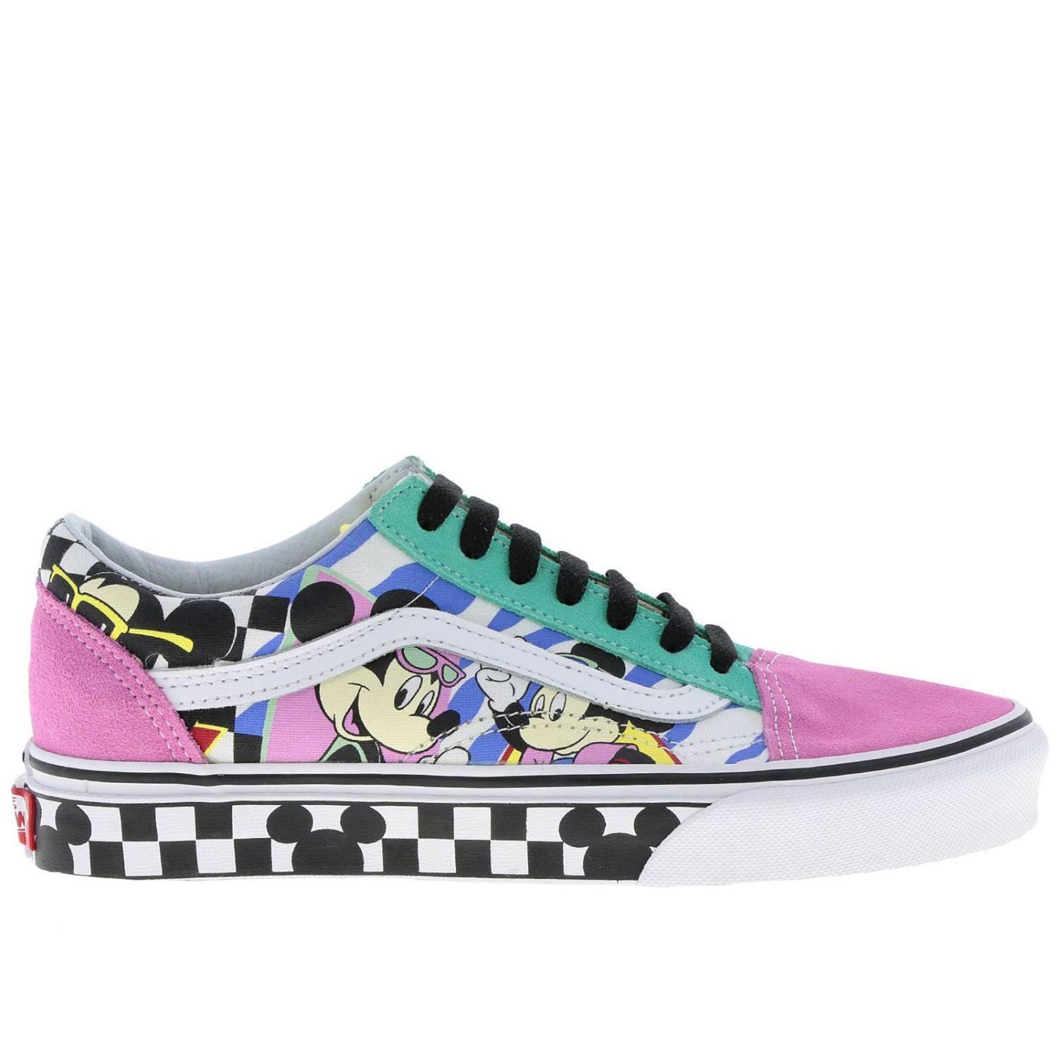 fced45da6d Vans Disney Old Skool Sneakers Dedicated To Mickey Mouse s 90th ...
