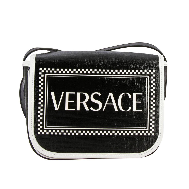 e23ca50e7c Versace Crossbody Bags Shoulder Bag Women in Black - Lyst