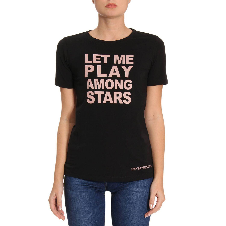 Lyst Emporio Armani T Shirt Women In Black