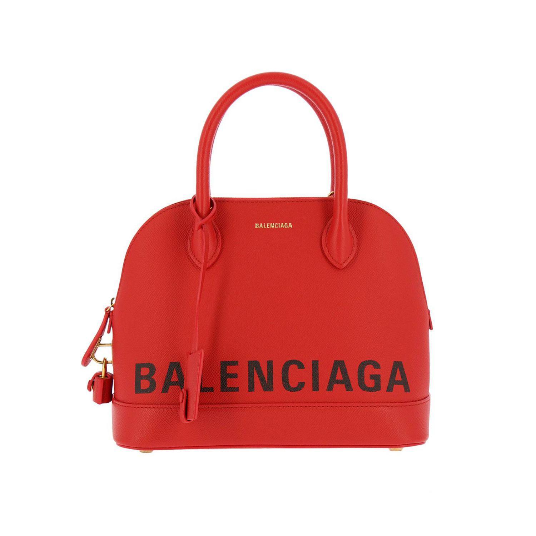 Balenciaga Red Handbag Shoulder Bag Women Lyst View Fullscreen