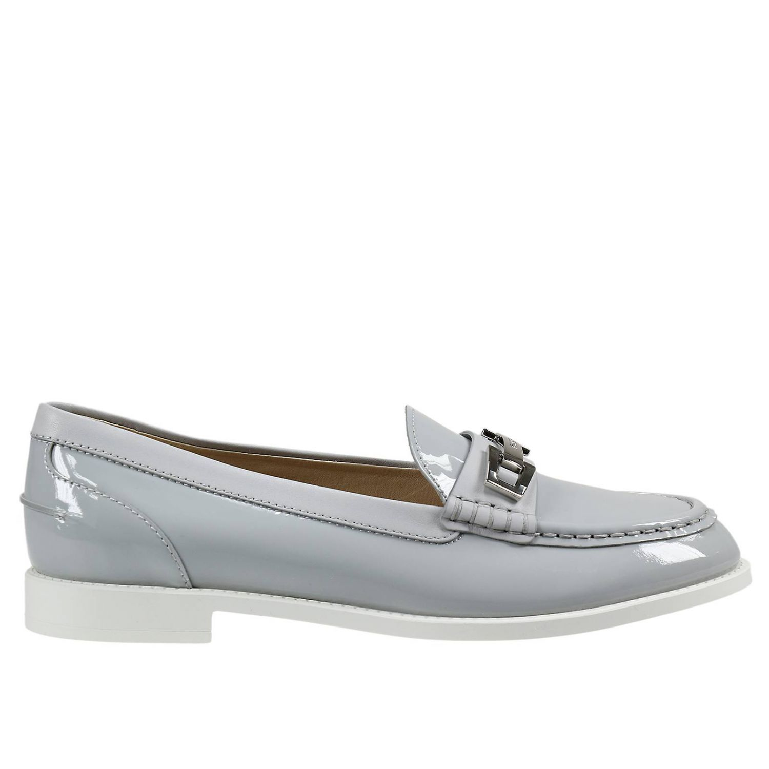 Todu0026#39;s Flat Shoes Shoes Woman In Gray (Grey) | Lyst