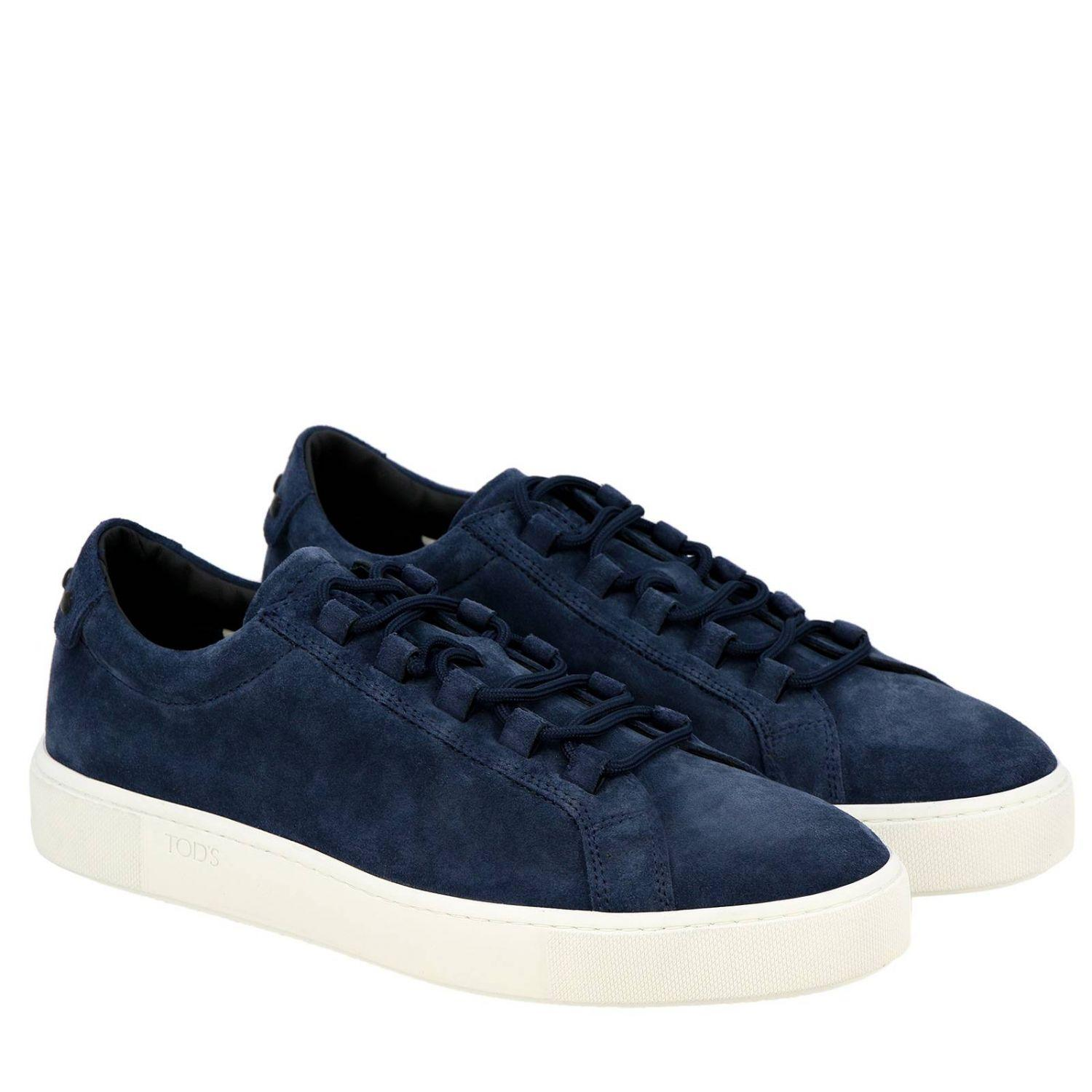 f10db382 Tod's - Blue Sneakers Shoes Men for Men - Lyst. View fullscreen