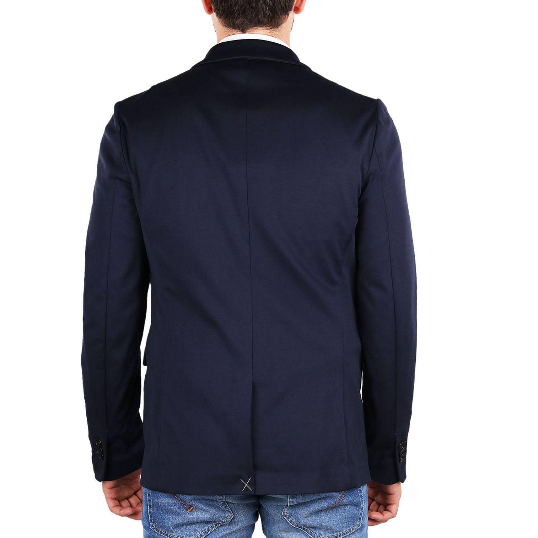 Paolo Pecora Jacket Men in Blue for Men