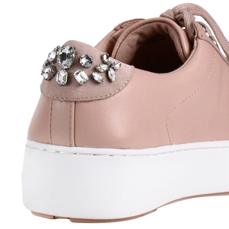 MICHAEL Michael Kors Leather Sneakers Women in Pink