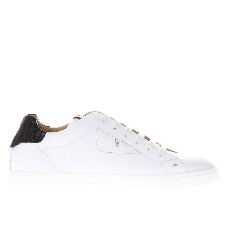 Fendi Sneakers Men in White for Men - Lyst