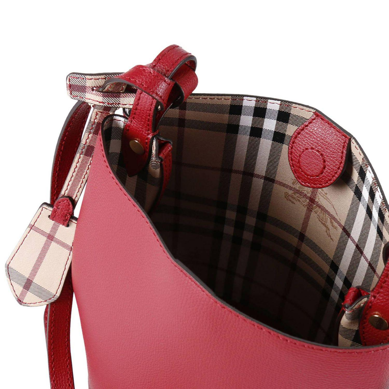 Lyst - Burberry Shoulder Bag Women in Red