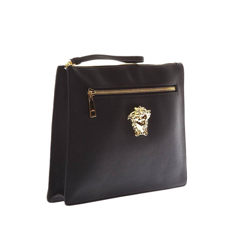 44a2070164 Versace - Black Bags Men for Men - Lyst. View fullscreen