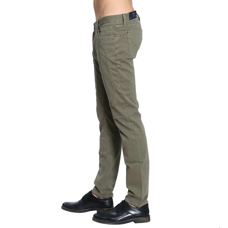 Jeckerson Denim Jeans Men in Green for Men