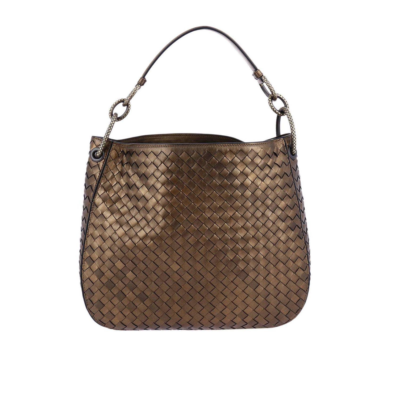 e2d255cc7f47 Lyst - Bottega Veneta Hobo Bag Loop Small In Nappa With .