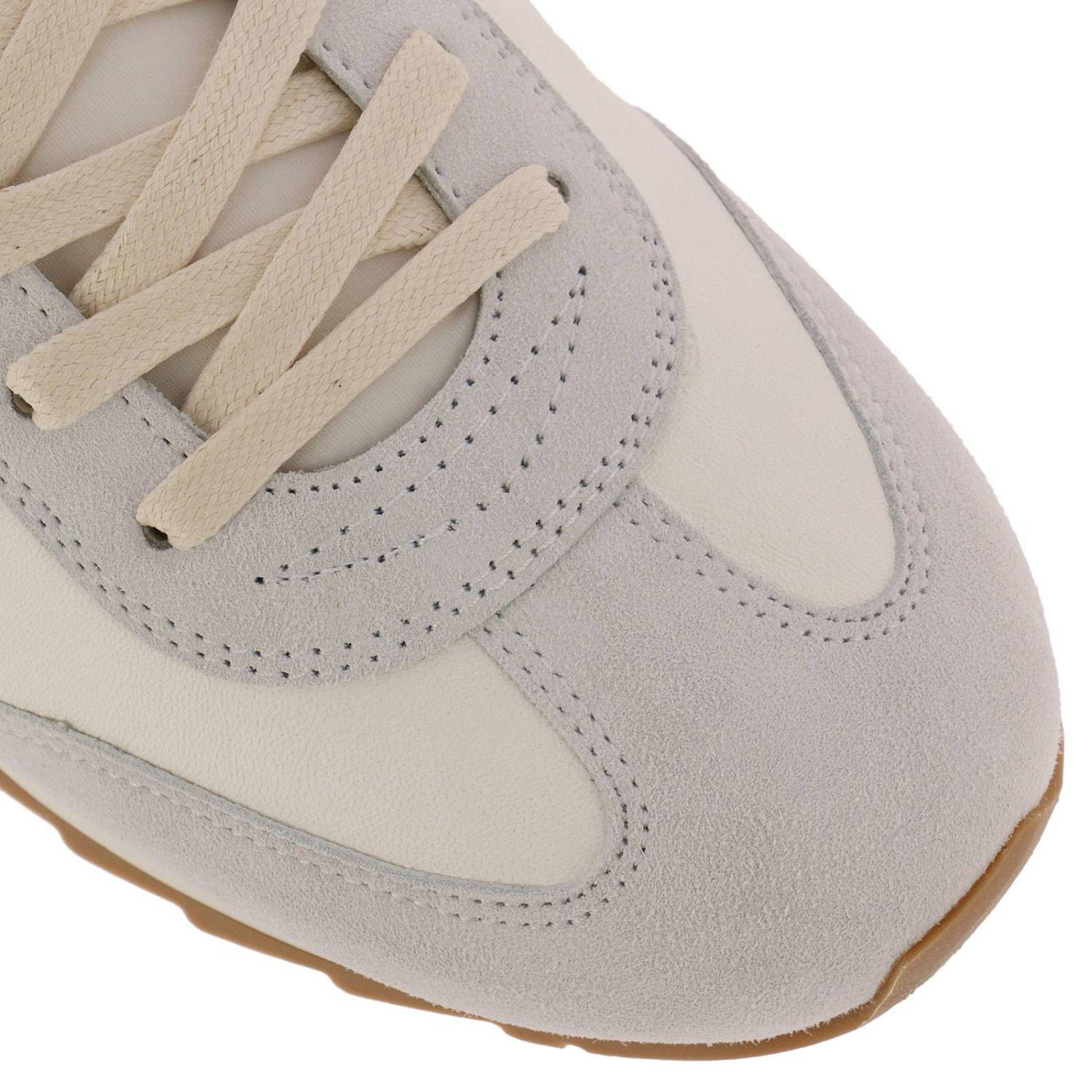 Philippe Model Leather Sneakers Shoes Men in White for Men