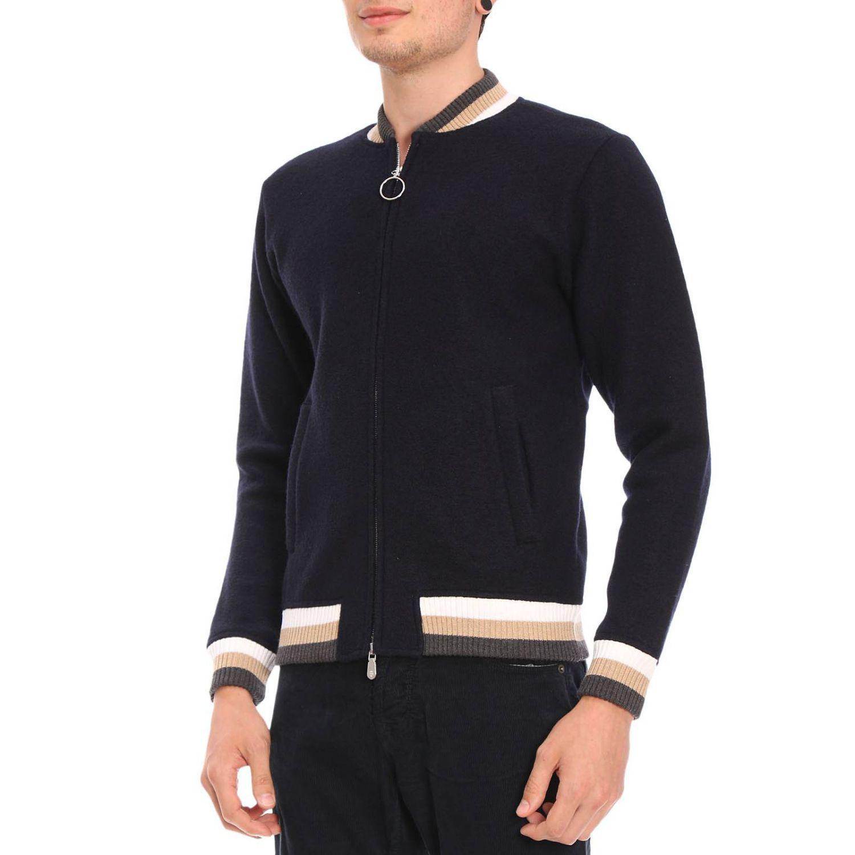 Eleventy Wool Jacket Men in Blue for Men