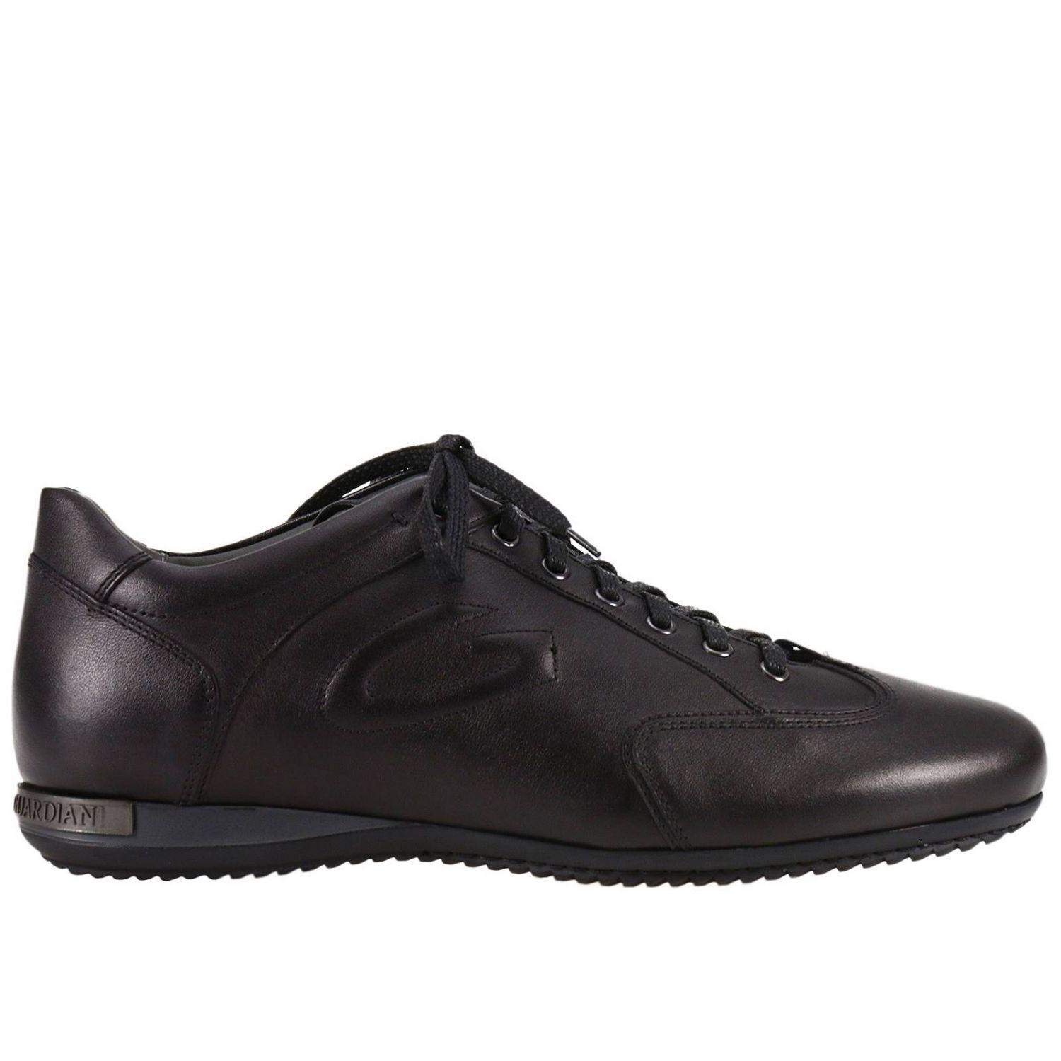 Lyst - Alberto Guardiani Lace Up Shoes Adler Sneaker Suede
