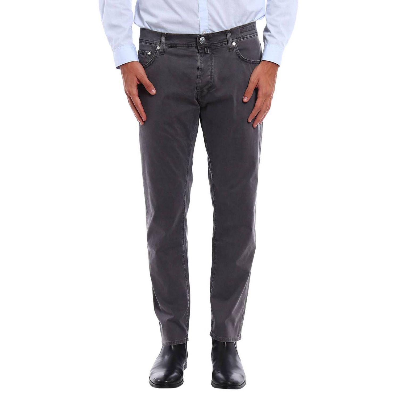 Lyst jacob cohen jeans men in gray for men - Jacob cohen denim ...