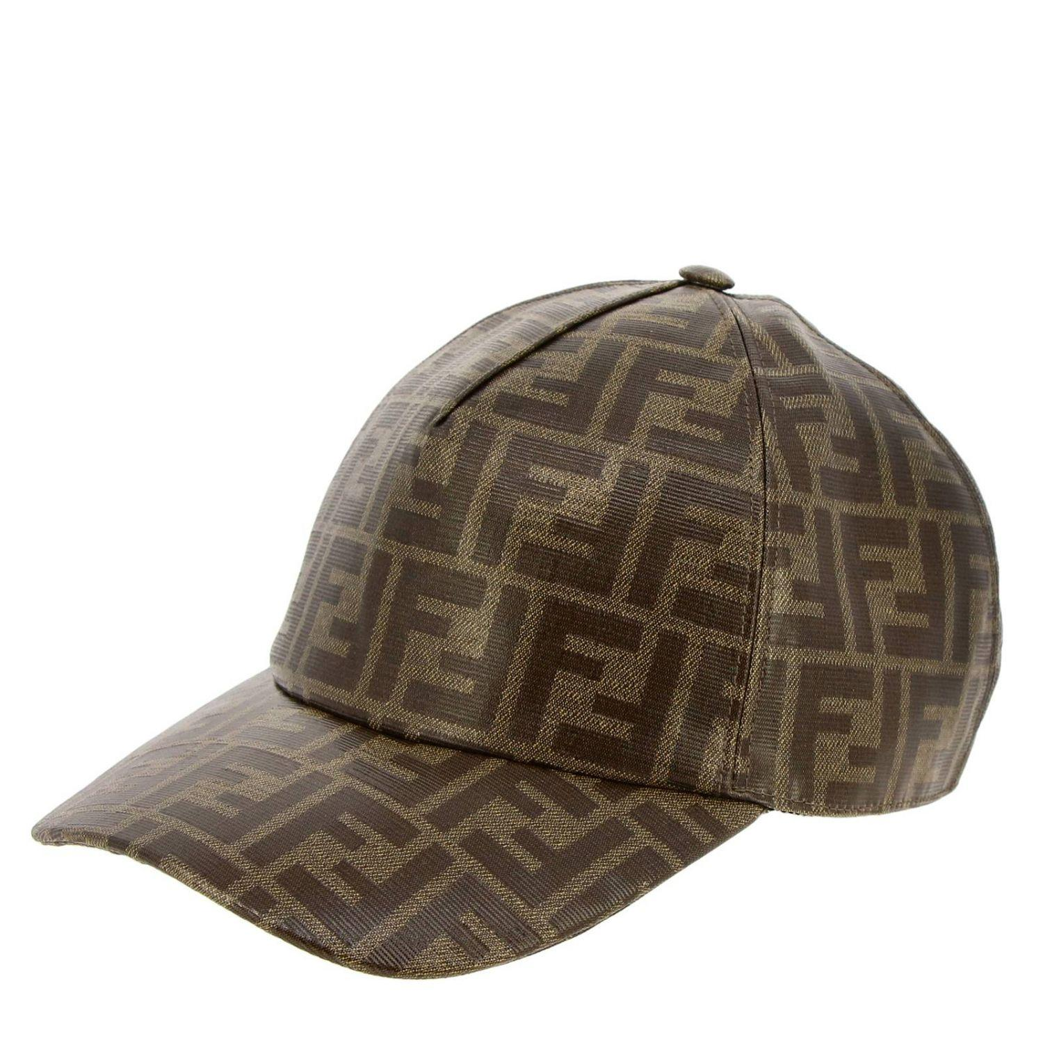 80347d1e806 Fendi Hat Men in Brown for Men - Lyst