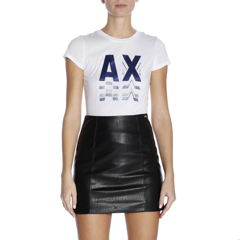 White Lyst T Armani Shirt In Women Exchange nnTYqxgZ
