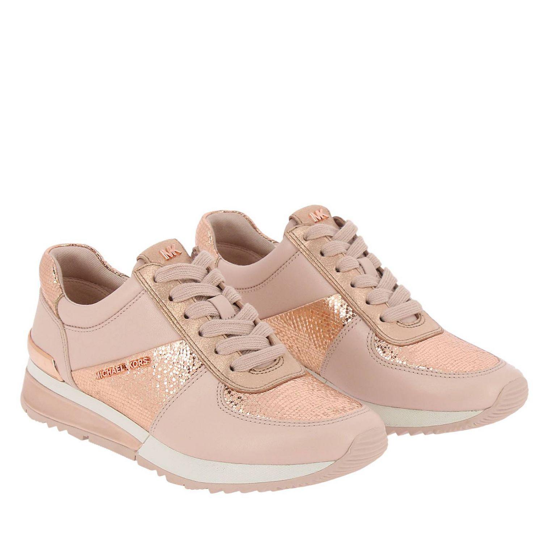 Shoes, michael kors, michael kors shoes, nude sneakers