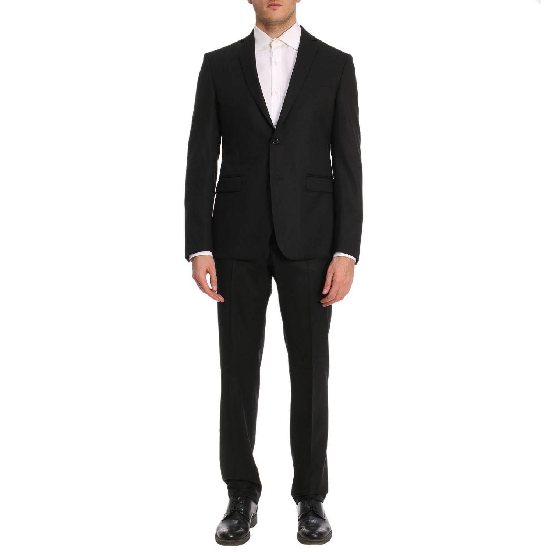 89795e30aaf Lyst - Costume homme Versace pour homme en coloris Noir