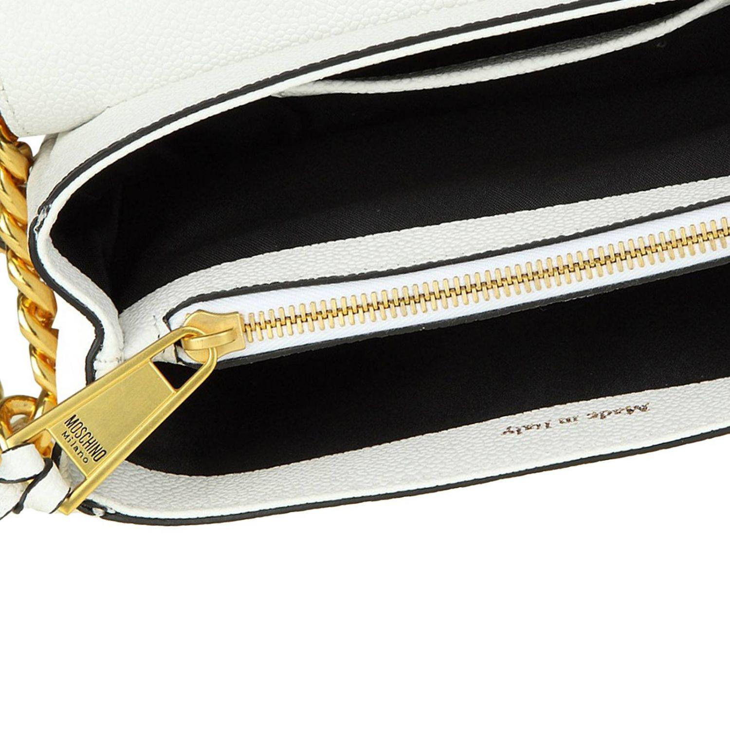 Moschino Couture Crossbody Bags Shoulder Bag Women in White