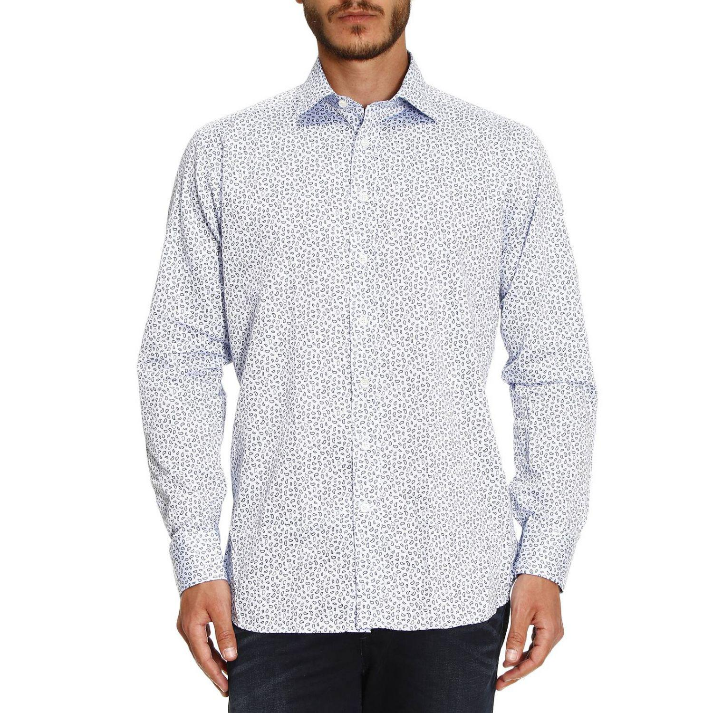 Lyst etro shirt men in blue for men for Etro men s shirts