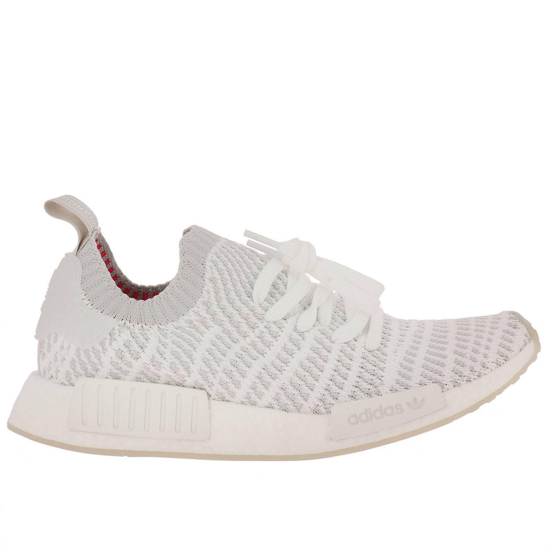 bff950e84195 Lyst - Adidas Originals Nmd-r1 Stlt Pk Originals Sneakers With Micro ...