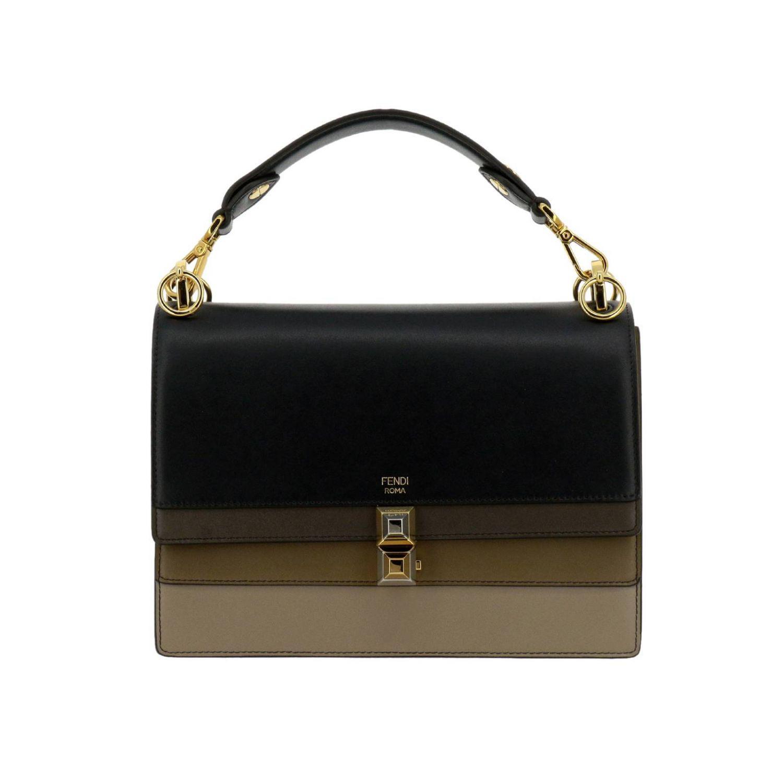 5a94a4374b54 Fendi Handbag Shoulder Bag Women in Black - Lyst