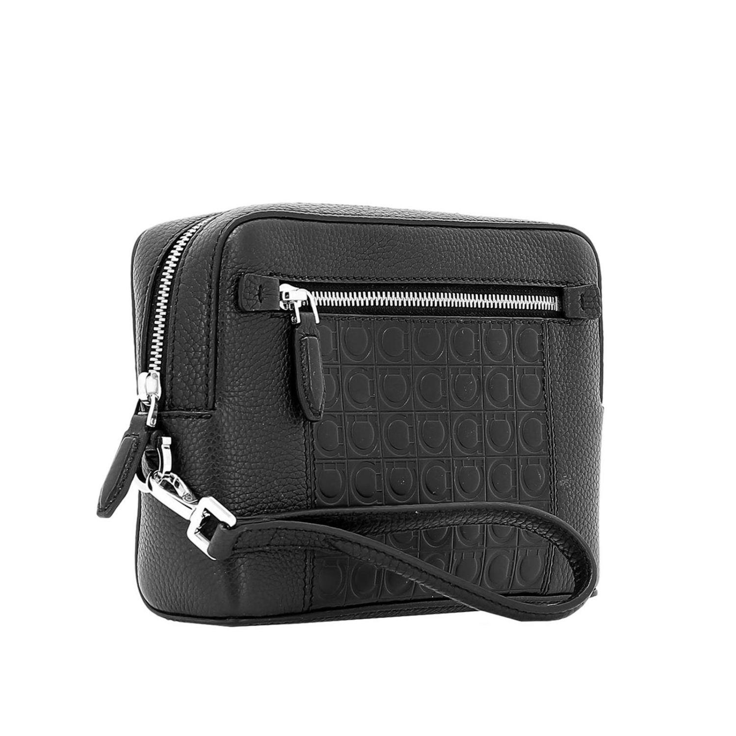 219707ad43c Ferragamo - Black Bags Men for Men - Lyst. View fullscreen