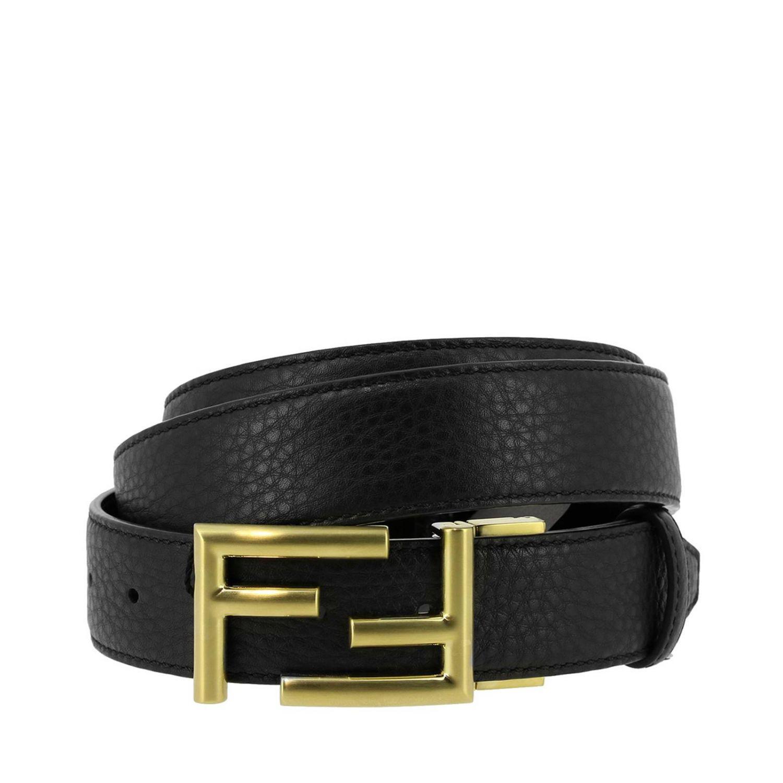 cc60c0e11e8e ... best price fendi. black belt men 37688 17a0d ...