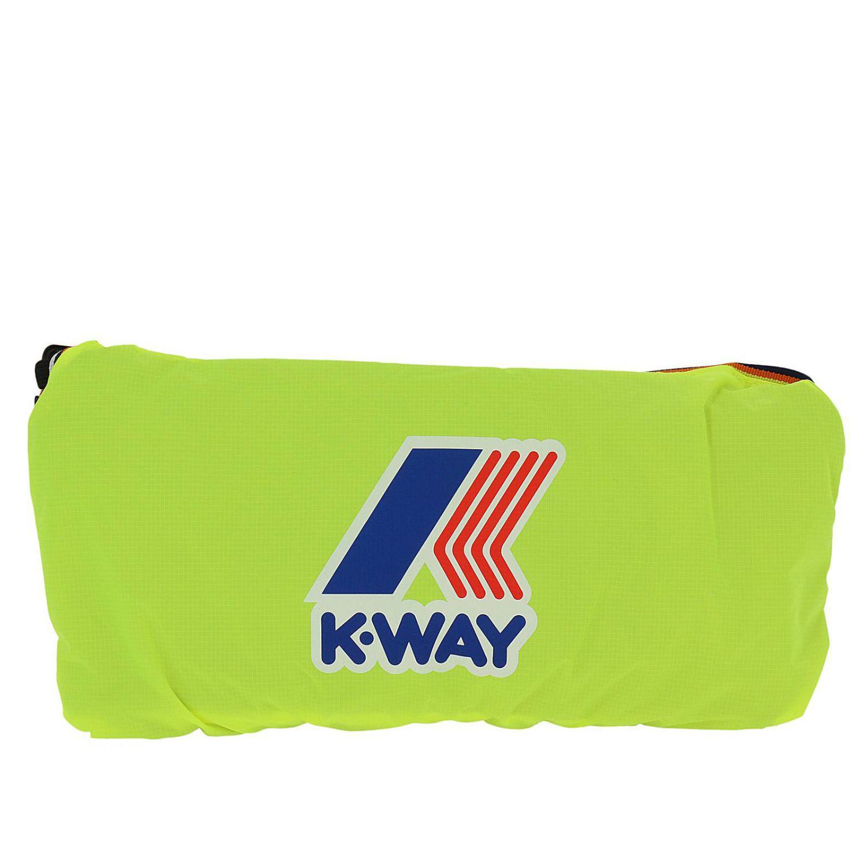 K-Way Backpack Men in Yellow for Men