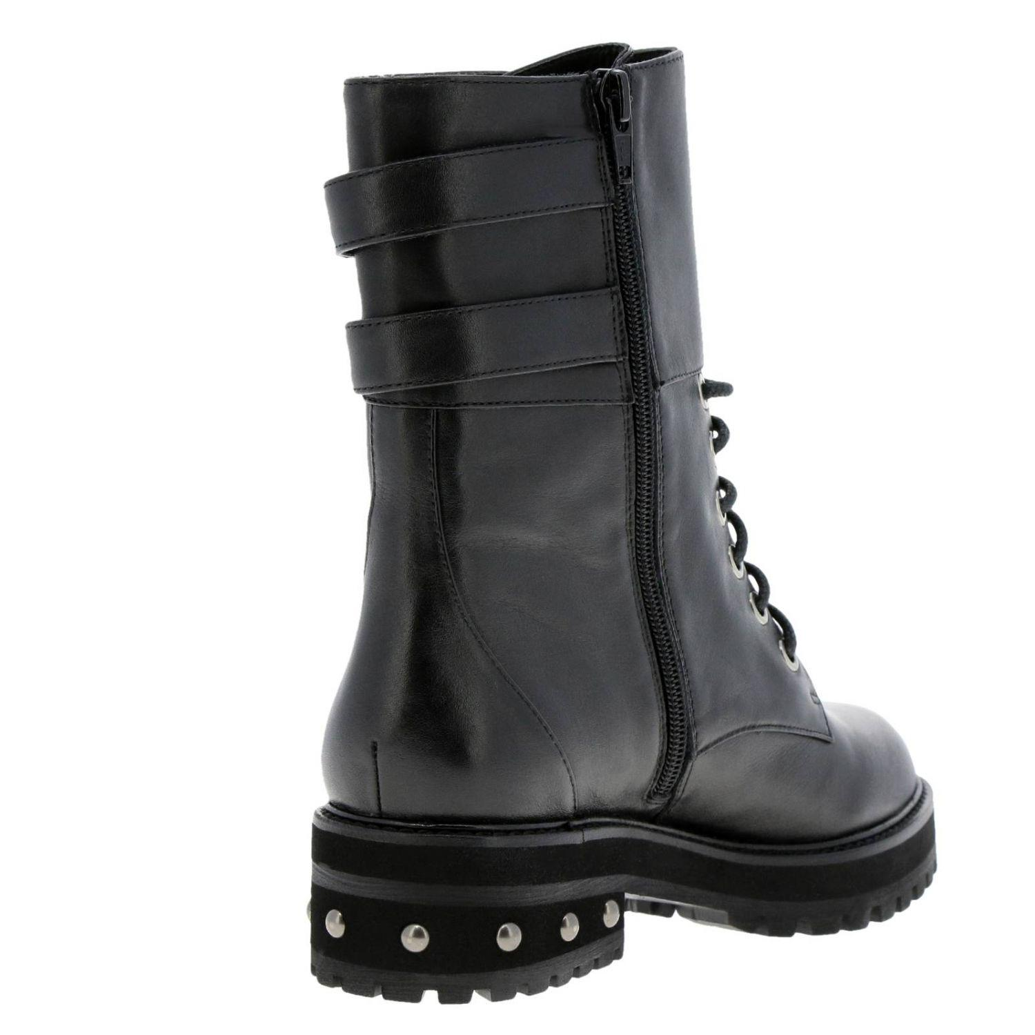 a6b5d7ebbcb Pinko Boots Women in Black - Lyst