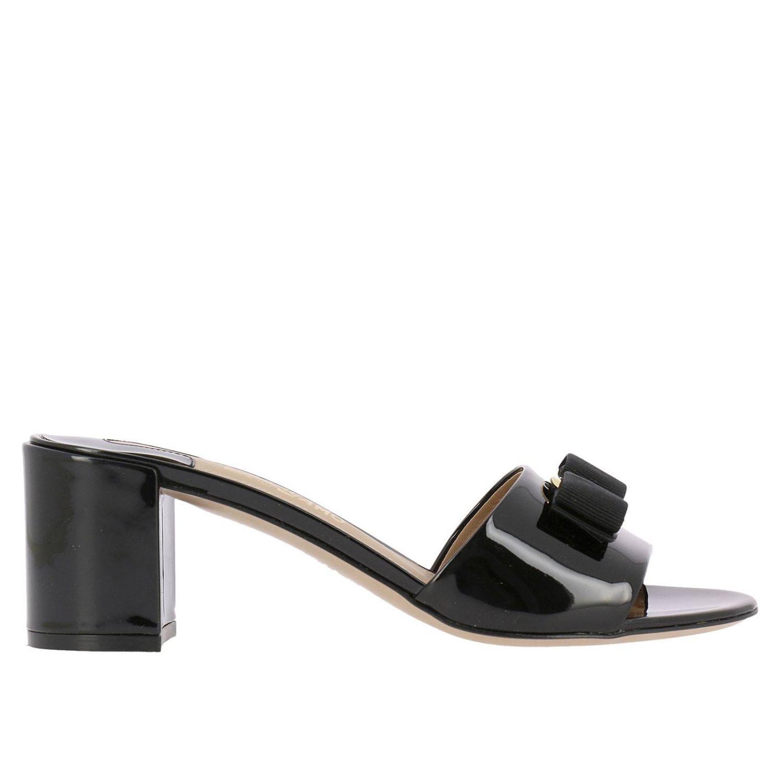 1624206dddcd Lyst - Ferragamo Shoes Women in Black