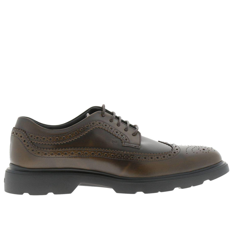 meilleures baskets bc952 a6b39 Hogan Brogue Shoes Shoes Men in Brown for Men - Lyst
