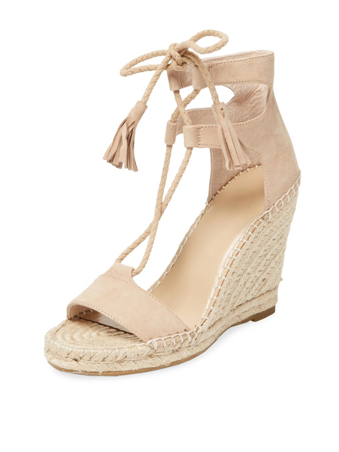 34c9a198937 Joie - Natural Delilah Leather Wedge Sandal - Lyst