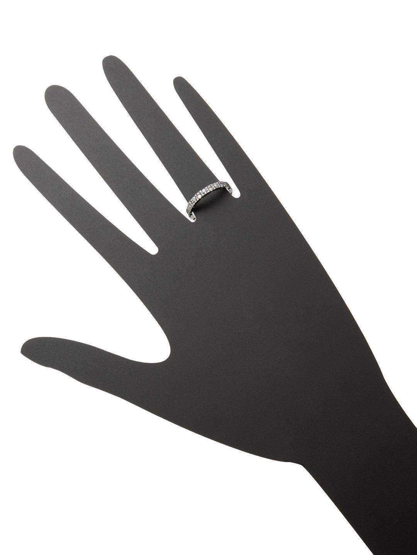 SHAY 14k Black Gold & 0.64 Total Ct. Diamond Eternity Band Ring