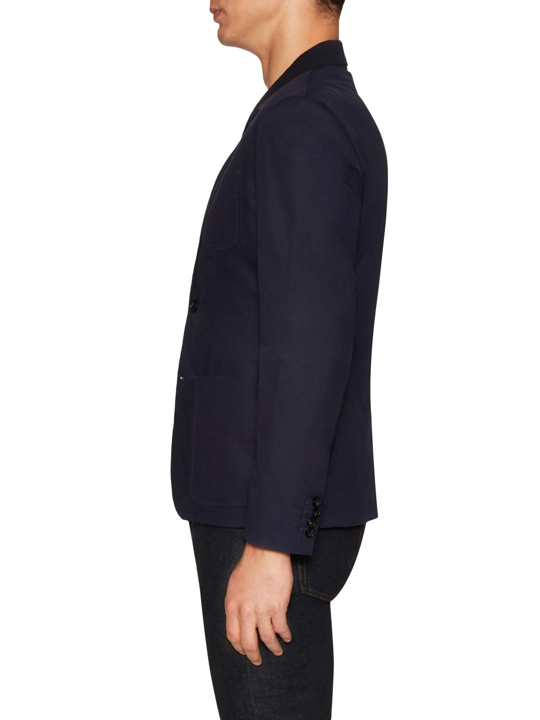 Marc By Marc Jacobs Cotton Patch Pocket Shrunken Fit Blazer in Blue for Men