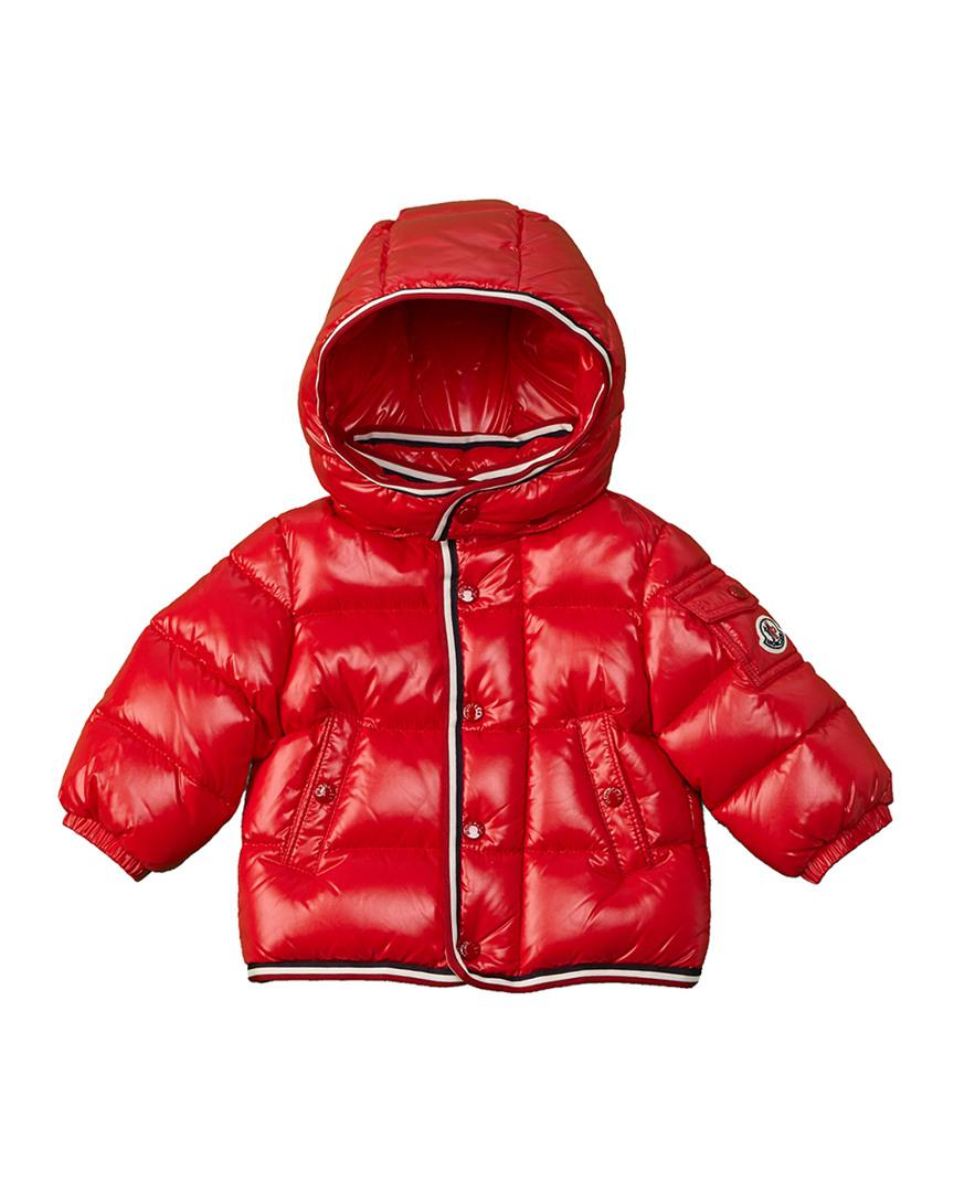 97e8b5f11fe0 Lyst - Moncler Kids  Down Coat in Red