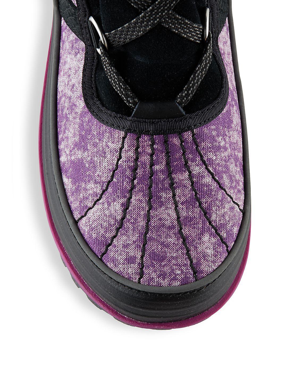 Sorel Rubber Tivoli Ii Lace-up Snow Boots in Bright Plum (Purple)