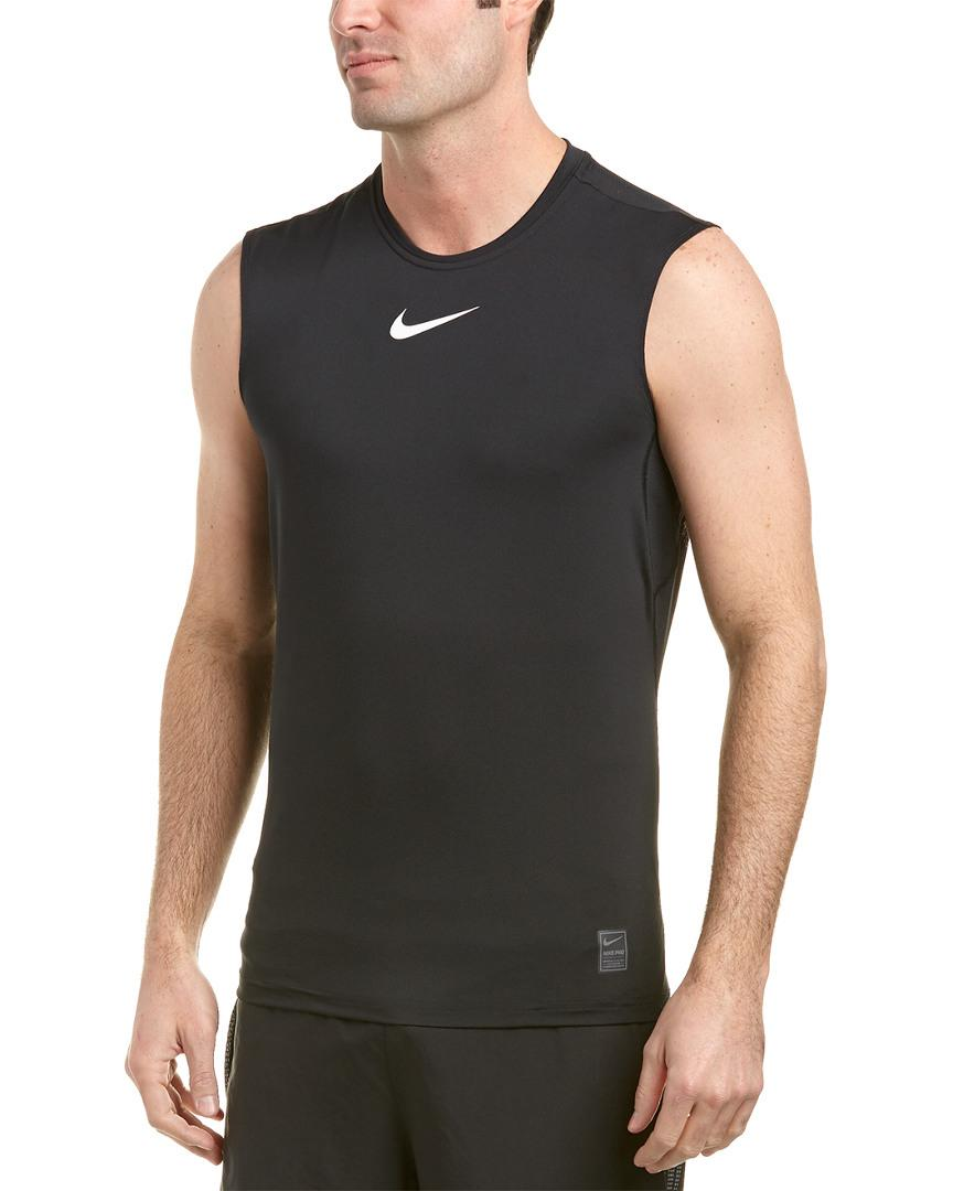 021bd8e29437d Lyst - Nike Pro Fitted Tank in Black for Men - Save 10%