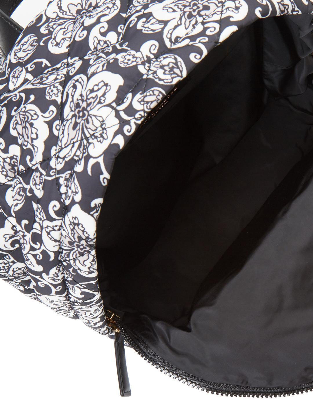 Marc Jacobs Quilted Mini Paisley Backpack in Black
