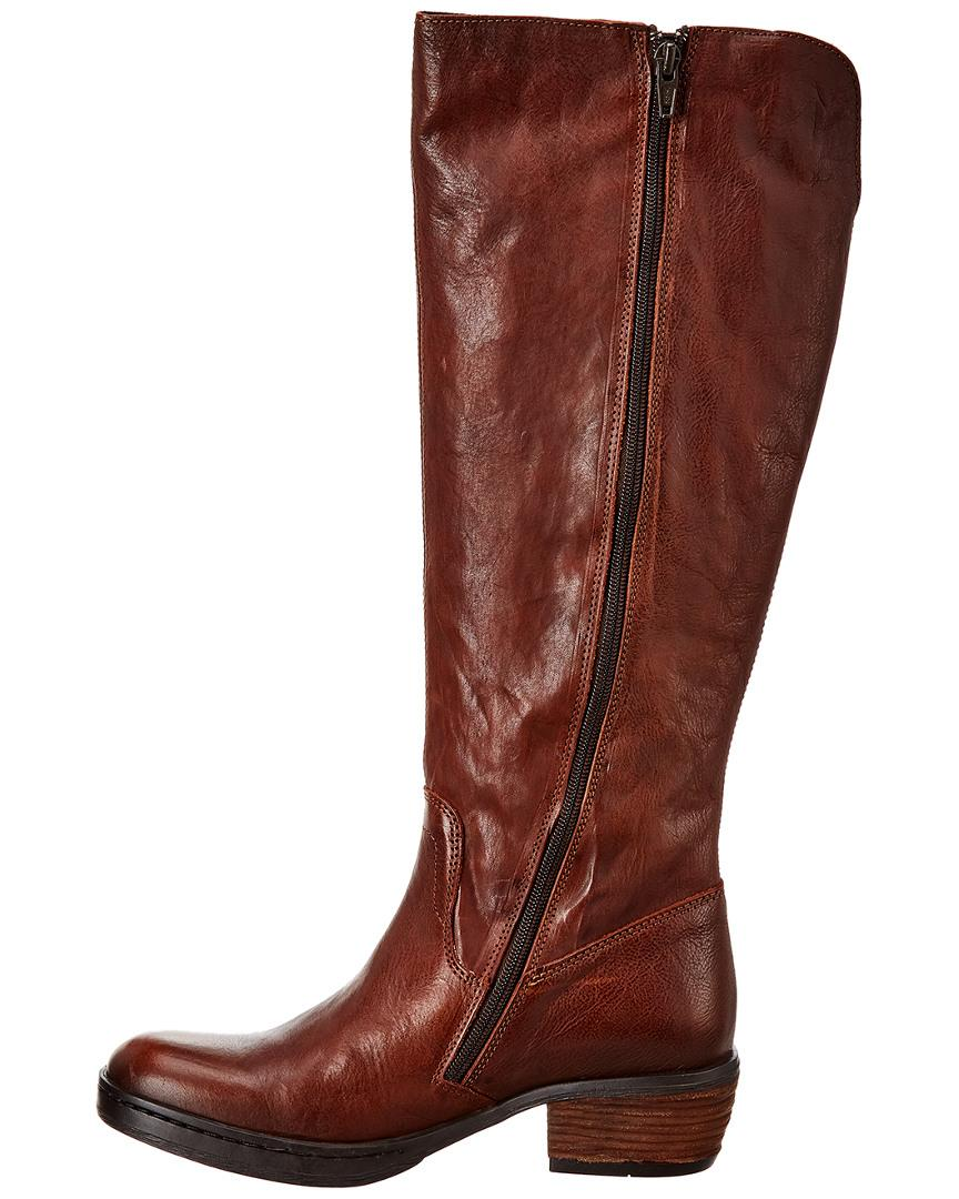 Fly London Chom Leather Boot in Brown