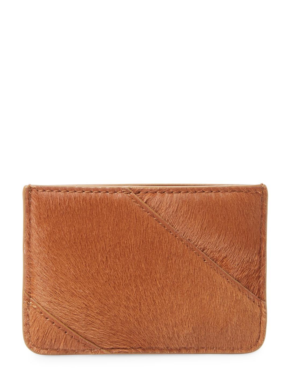American Flag Zip Card Case in Calf Leather Calvin Klein DuNY292v4