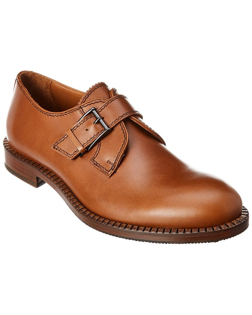 Aquatalia Leather Jamal in Brown for Men